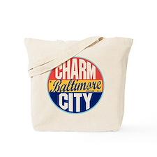 Baltimore Vintage Label Tote Bag