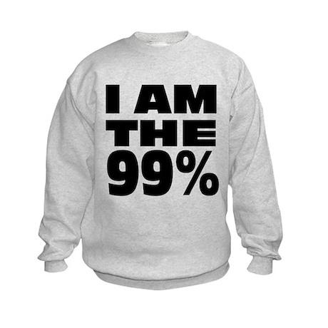 I Am The 99% Kids Sweatshirt