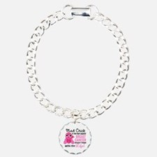 Mad Chick 2 Breast Cancer Bracelet