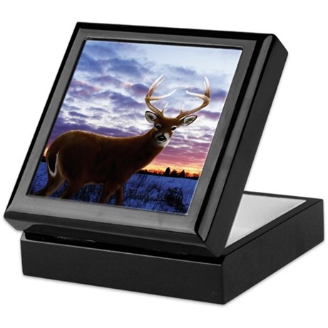 Whitetail Sunrise Keepsake Box