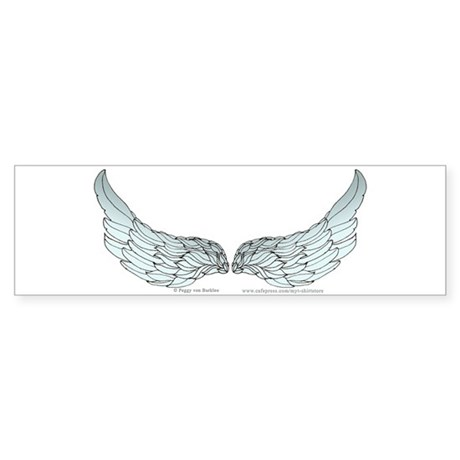 Angel Wings Bumper Sticker