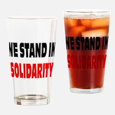 Solidarity: Drinking Glass