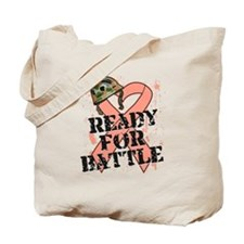 Ready Battle Uterine Cancer Tote Bag