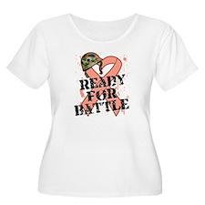 Ready Battle Uterine Cancer T-Shirt