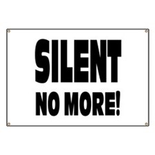 Silent No More: Banner