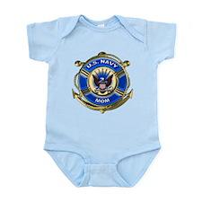 USN Navy Mom Infant Bodysuit