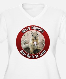 Rally Squirrel - The St Louis T-Shirt