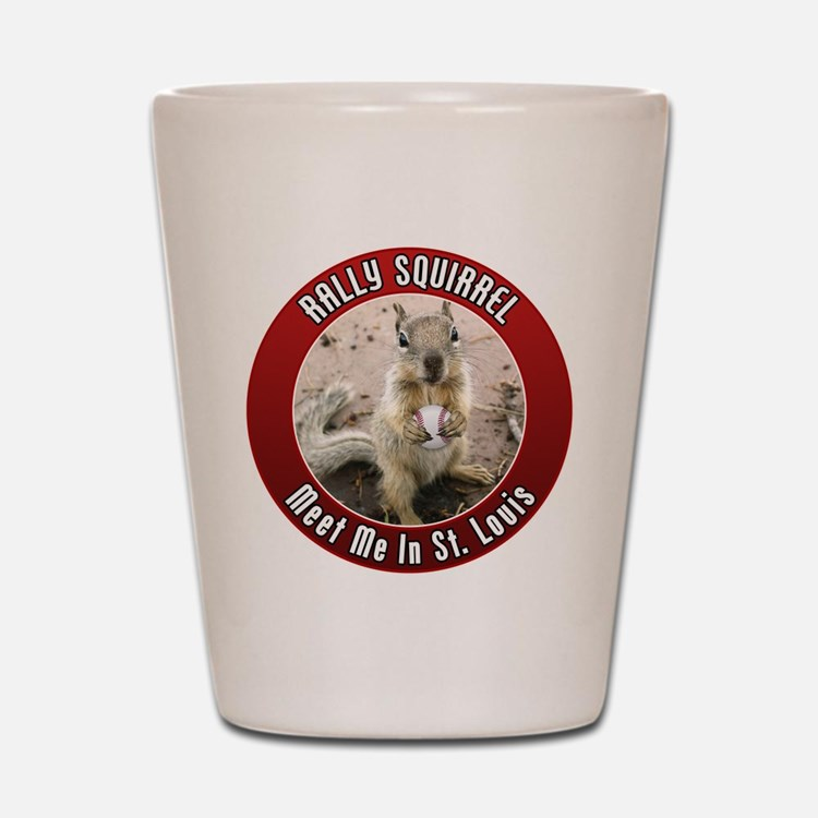 Rally Squirrel - The St Louis Shot Glass
