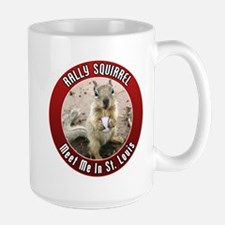 Rally Squirrel - The St Louis Mug