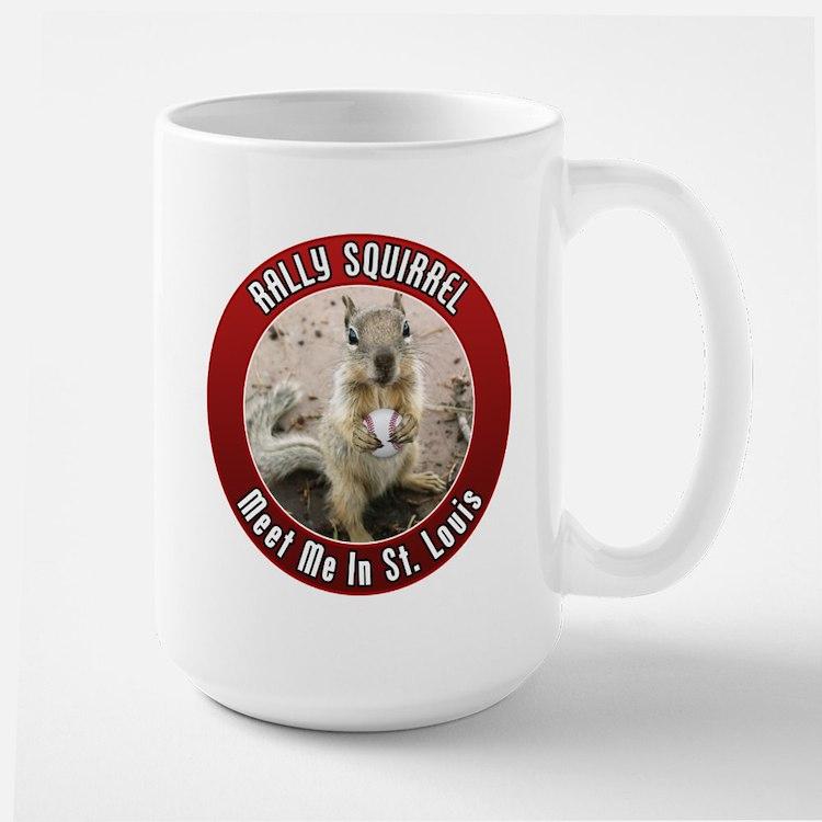 Rally Squirrel - The St Louis Mug