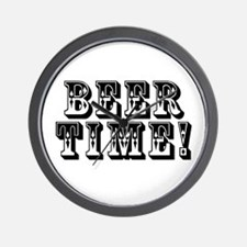 Beer Time! Wall Clock