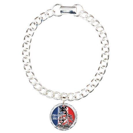 2012 Mustang Gift Charm Bracelet, One Charm