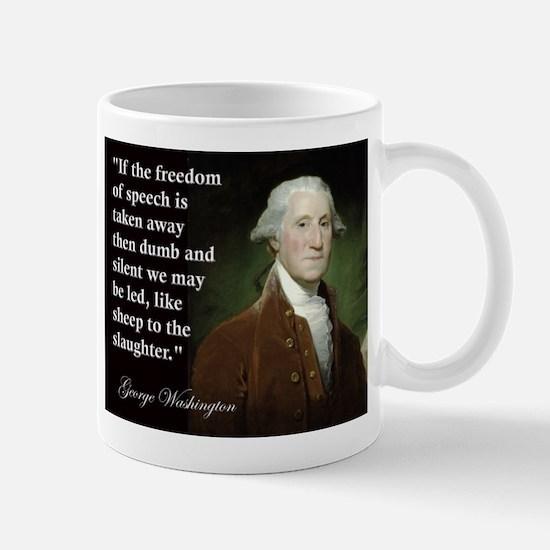 George Washington Freedom of Mug