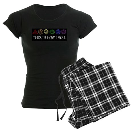 This Is How I Roll - Women's Dark Pajamas