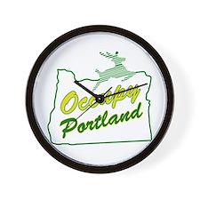 Occupy Portland Wall Clock