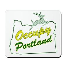 Occupy Portland Mousepad