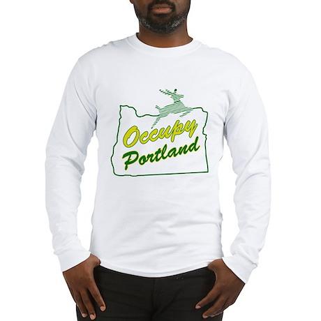 Occupy Portland Long Sleeve T-Shirt
