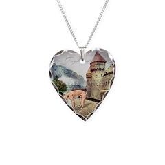Castle Greyhound Necklace