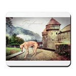 Castle Greyhound Mousepad