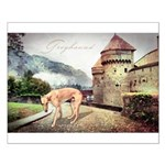 Castle Greyhound Small Poster