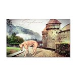 Castle Greyhound 22x14 Wall Peel
