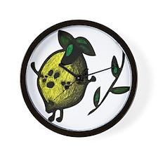"""Happy Lemon"" Wall Clock"