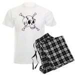 skull crossbones Men's Light Pajamas