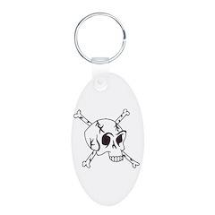 skull crossbones Keychains