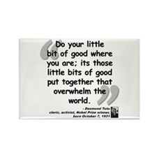 Tutu Good Quote Rectangle Magnet