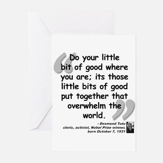 Tutu Good Quote Greeting Cards (Pk of 20)