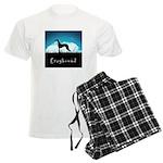 Nightsky Greyhound Men's Light Pajamas