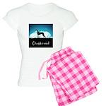 Nightsky Greyhound Women's Light Pajamas