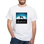 Nightsky Greyhound White T-Shirt