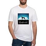 Nightsky Greyhound Fitted T-Shirt