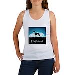 Nightsky Greyhound Women's Tank Top