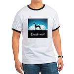 Nightsky Greyhound Ringer T