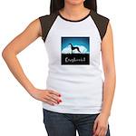 Nightsky Greyhound Women's Cap Sleeve T-Shirt