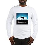 Nightsky Greyhound Long Sleeve T-Shirt