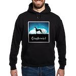 Nightsky Greyhound Hoodie (dark)