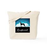 Nightsky Greyhound Tote Bag