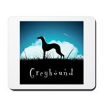 Nightsky Greyhound Mousepad