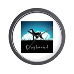 Nightsky Greyhound Wall Clock