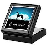 Nightsky Greyhound Keepsake Box