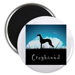 Nightsky Greyhound Magnet