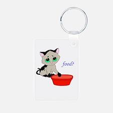 Food? (cat) Keychains