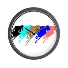 Cute Kangaroo joes Wall Clock