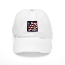 Miniature Pinscher Flag Baseball Cap