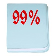 Unique Ninety nine percent baby blanket