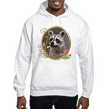 Raccoon Portrait Hoodie