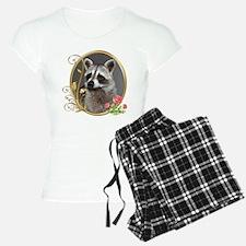 Raccoon Portrait Pajamas